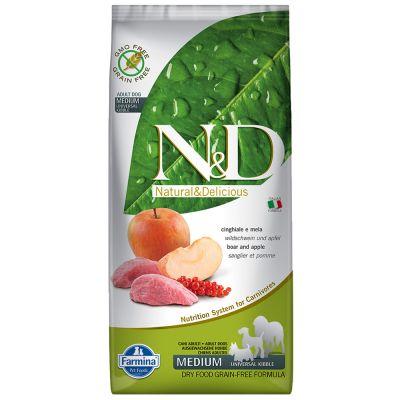Farmina N&D Grain Free Adult Medium Cinghiale e Mela