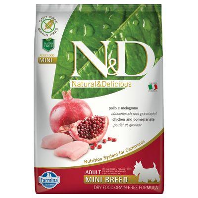 Farmina N&D Grain Free Adult Mini Pollo & Melograno