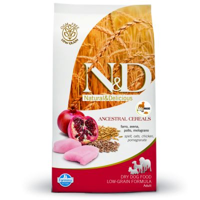 Farmina N&D Low Grain Adult Maxi Pollo e Melograno