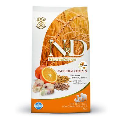 Farmina N&D Low Grain Adult Mini Merluzzo e Arancia