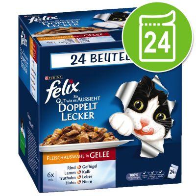 Felix  Le Ghiottonerie doppia delizia 24 x 100 g
