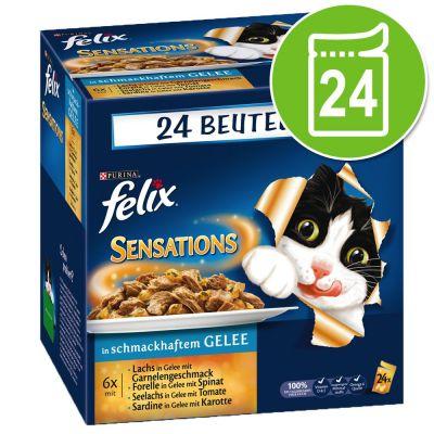 Felix Sensations in Gelatina 48 x 100 g