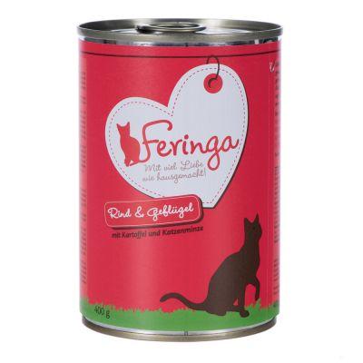Feringa Duo Menu konzerva - dvě příchutě 6 x 400 g