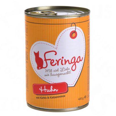 Feringa Menus à la viande 6 x 400 g pour chat