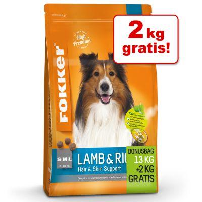 Fokker 13 kg + 2 kg hondenvoer gratis!