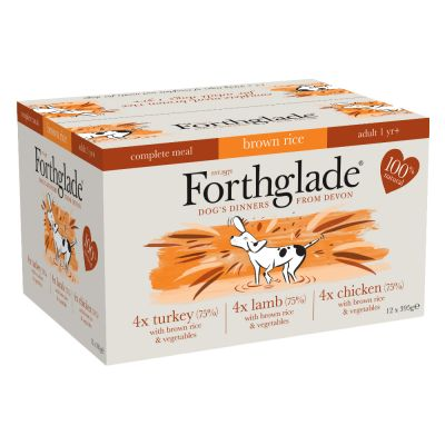 Forthglade Complete Meal Adult Dog - Mixed Pack