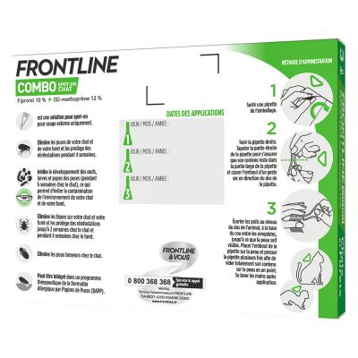 Frontline® Combo Spot-on Chat