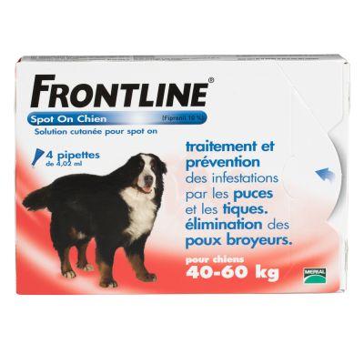 Frontline® Spot on Chien XL, 40 - 60 kg