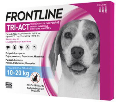Frontline® Tri-Act solución spot-on para perros 10-20 kg