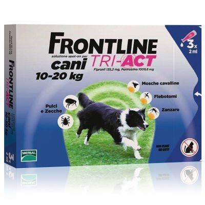 Frontline Tri-Act soluzione spot-on per cani 10-20 kg
