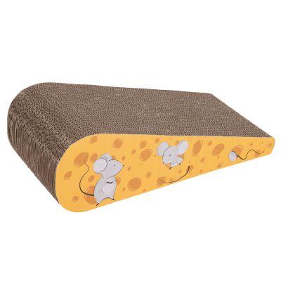 Fun Cardboard Cheese Wedge Scratch Block