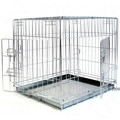 Gabbia per cani Double Door