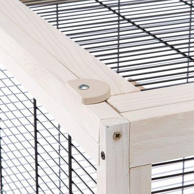 Gabbia per Uccelli Bianca