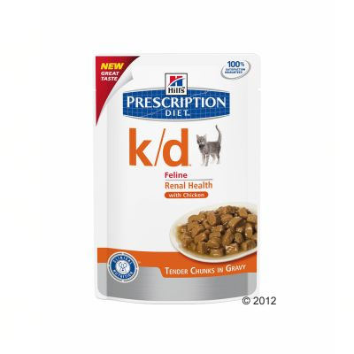Gemengd pakket: 5 kg Hill´s Prescription Diet & 12 x 85 g Kip