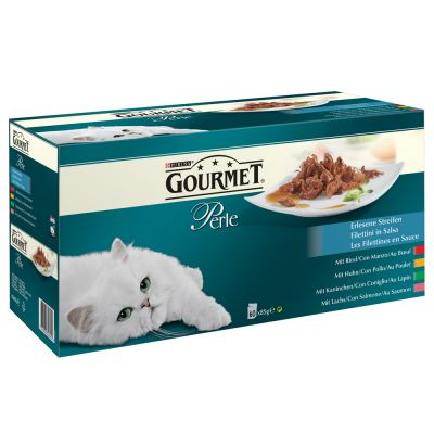 Gourmet Perle Filettini in Salsa 60 x 85 g