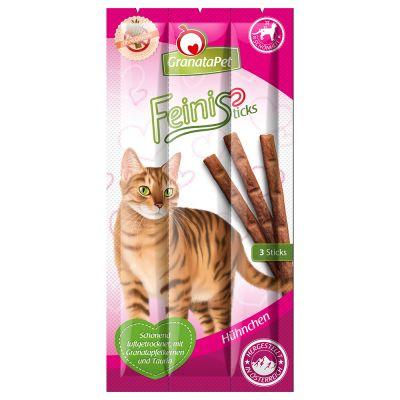 GranataPet Feini Sticks, poulet pour chat