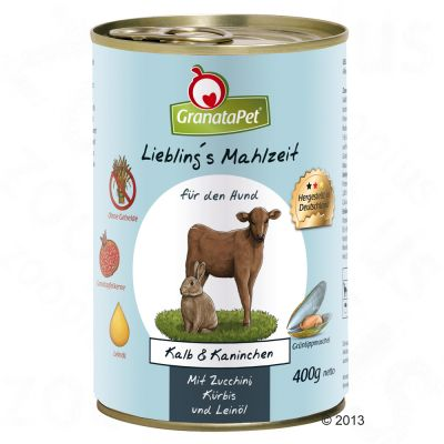 GranataPet Liebling's Mahlzeit Mixpaket mit 400 g