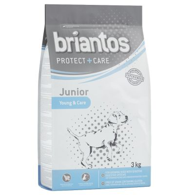 2 + 1 gratis! 3 kg Briantos Protect + Care