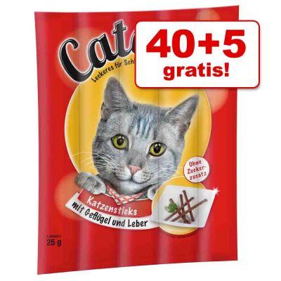 40 + 5 gratis! 45 pz Catessy Bar-B-Q Sticks