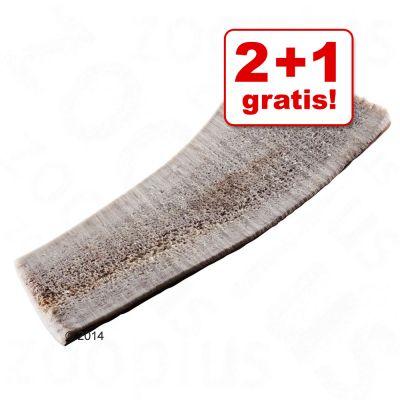 2 + 1 gratis! 3 Snack con minerali Metà Corno di cervo