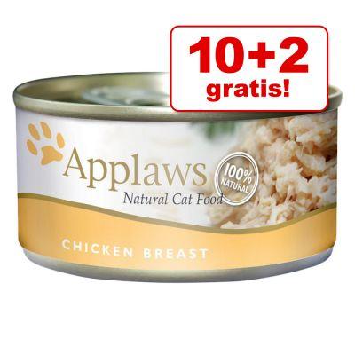 10 + 2 gratis! 12 x 156 g Applaws