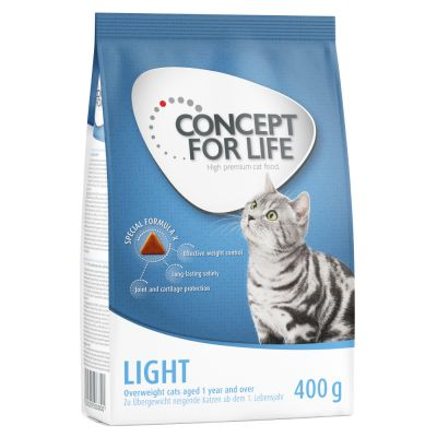 1 + 1 gratis! 2 x 400 g Concept for Life