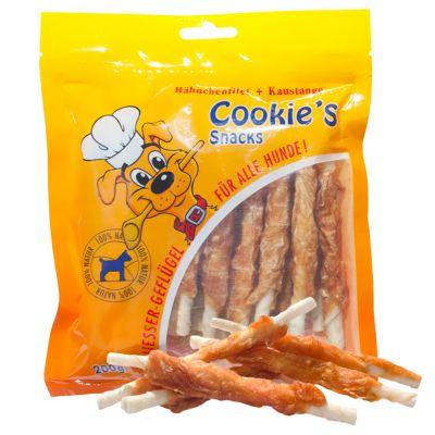 2 + 1 gratis! 3 x 200 g Cookie's Delikatess rotolo strisce di filetto di pollo