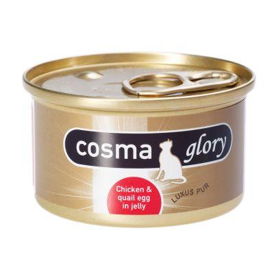 21 + 3 gratis! 24 x 85 g Cosma in gelatina