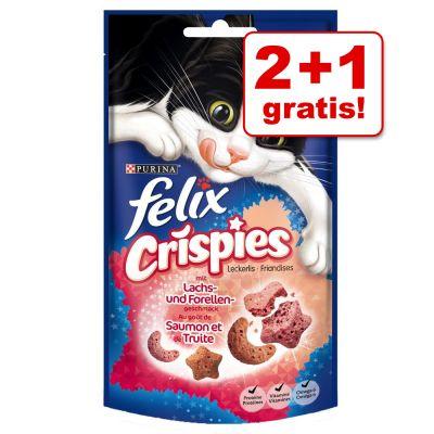 2 + 1 gratis! 3 x 45 g Felix Crispies