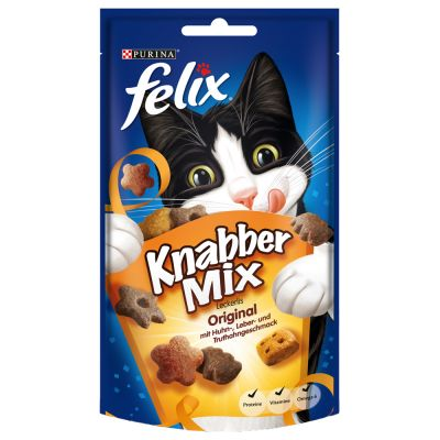 2 + 1 gratis! 3 x 60 g Felix Party Mix