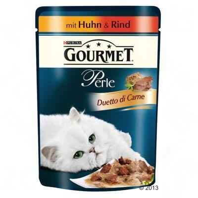40 + 8 gratis! 48 x 85 g Gourmet Perle
