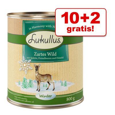 10 + 2 gratis! 12 x 800 g Lukullus Menù Invernale
