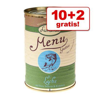 10 + 2 gratis! 12 x 400 g Lukullus Menu Gustico