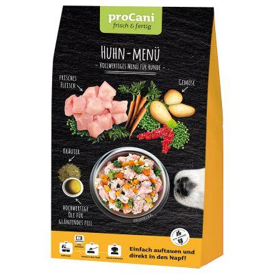 4 + 1 gratis! 5 x 480 g pro Cani Menü frisch & fertig  Nuggets