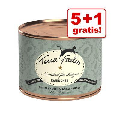 5 + 1 gratis! 6 x 200 g Terra Faelis Menù di carne