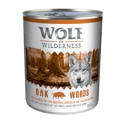10 + 2 gratis! 12 x 800 g Wolf of Wilderness