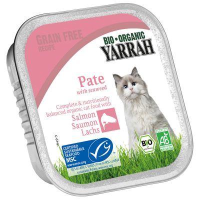 16 + 2 gratis! 18 x 100 g Yarrah Bio Paté