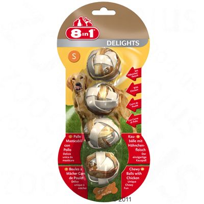 2 + 1 gratis! 3 x 8in1 Delights