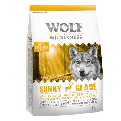 1 + 1 gratis! 2 x 1 kg Wolf of Wilderness