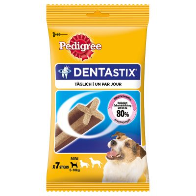 2 + 1 gratis! 3 x 7 pz Pedigree Dentastix