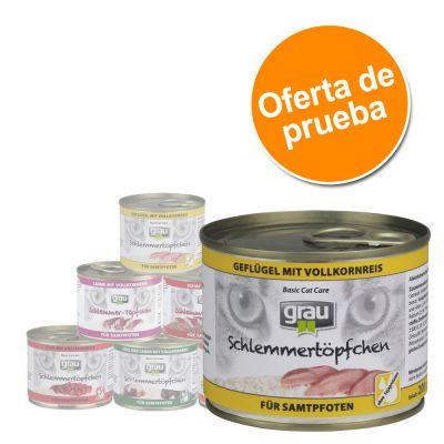 Grau Gourmet 6 x 200 g - Pack de prueba