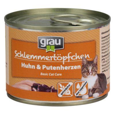 Grau Schlemmertöpfchen getreidefrei 6 x 200 g