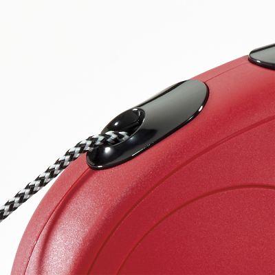 Guinzaglio avvolgibile a corda flexi New Classic S, 8 m