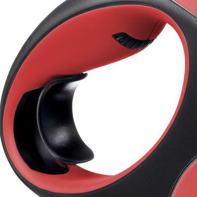 Guinzaglio avvolgibile a corda flexi New Comfort M, 8 m