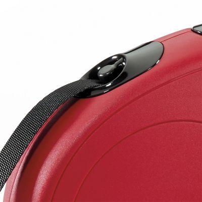 Guinzaglio avvolgibile a fettuccia flexi New Classic M, 5 m