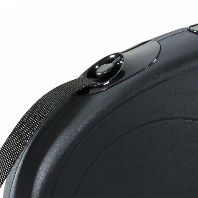 Guinzaglio avvolgibile a fettuccia flexi New Classic S, 5 m
