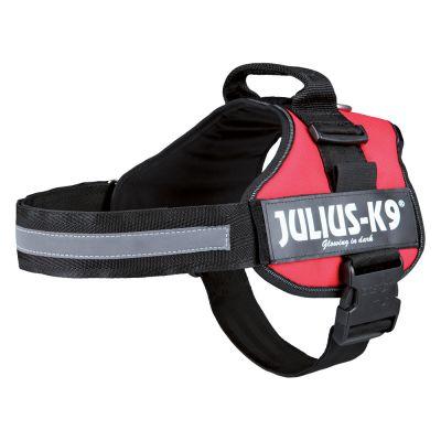 Harnais Julius-K9, rouge pour chien