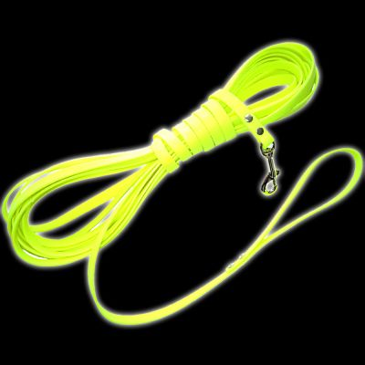 Heim Biothane® Long Dog Lead - Fluorescent Yellow