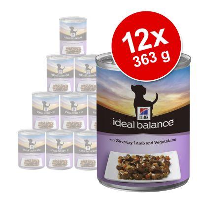 Hill's Canine Ideal Balance Adult 12 x 363 g
