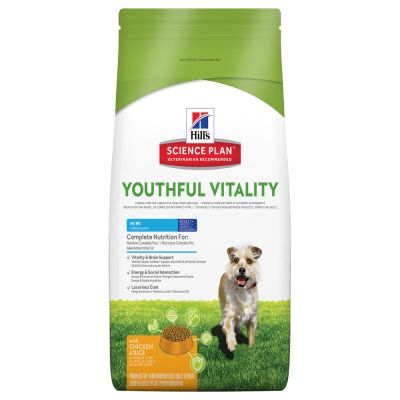 Hill's Canine 7+ Youthful Vitality Mini Chicken & Rice